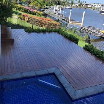 gold coast timber desk installer